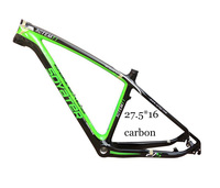 SY 27.5 full carbon bike frame tapered headset 17.5 inch mountain bike with disc brake