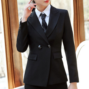 Image 4 - Naviu High Quality Blazer Women Formal Business Slim Long Sleeve Jacket Office Ladies Plus Size Tops