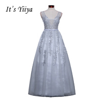 Free Shipping 2016 Sleevesless Romantic Grey Clare Formal Bridesmaid Dresses Gown Plus Size V Neck Sex