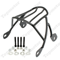 Black Solo Seat Luggage Rear Fender Rack For Harley Sportster XL883 XL1200 2004 2012 2013 2014 2015 2016