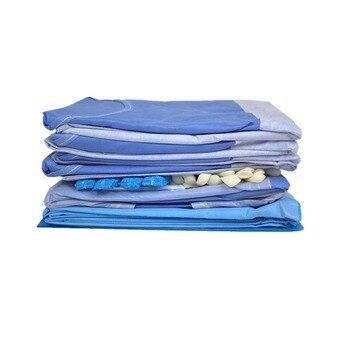 Бесплатная доставка 1 компл./упак. высокое качество EO стерилизации одноразовые стерильные хирургические комплект