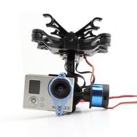 Tarot 2 Axis BGC TL68A00 Brushless Gimbal T 2D for Gopro Hero3 Camera Mount DJI Phantom FPV