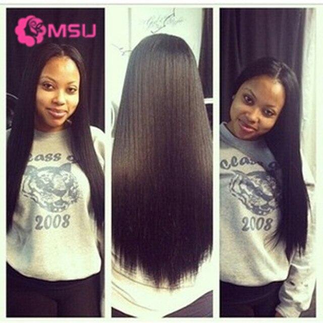 3pcs Straight Indian Virgin Hair Bundle Deals Yvonne Hair 8a