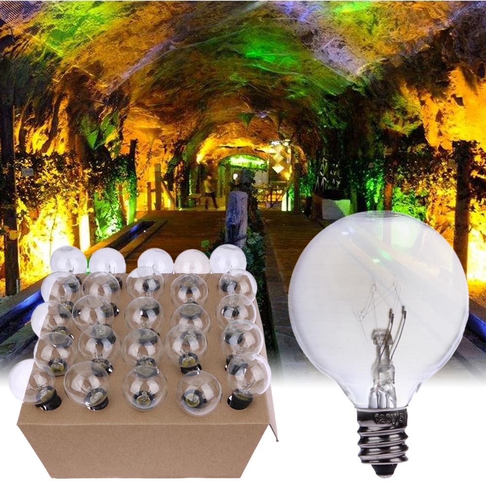 patio de la vendimia globo luces de cadena cordn negro bombillas de vidrio luz