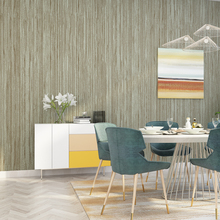 Modern Strip Wall Papers home decor Vertical Stripes Linen Contact Paper for Living Room Bedroom Walls Mural papel de parede