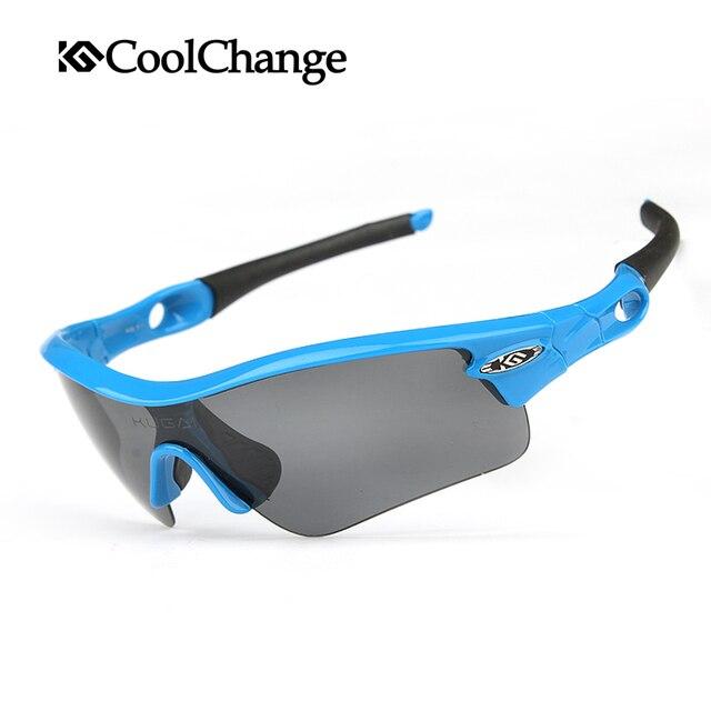 1441d8e785493 COOLCHANGE Profissional 5 Grupos de Lentes Polarizadas Óculos De Sol Óculos  de Ciclismo Esportes Óculos óculos