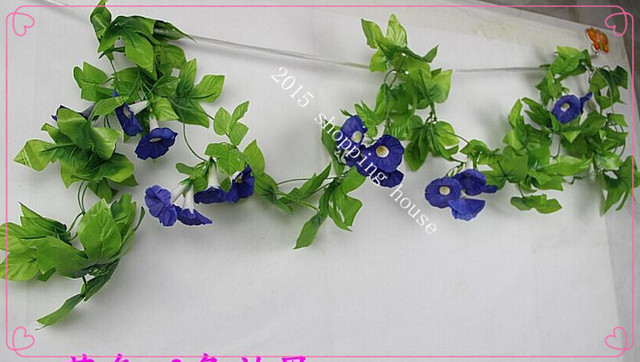 5pcs 24m home decoration the new simulation petunia rattan wedding 5pcs 24m home decoration the new simulation petunia rattan wedding decorative plastic pipe silk flowers mightylinksfo
