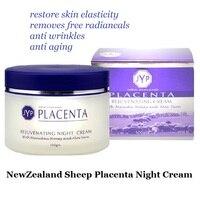 NewZealand Schafe Plazenta Verjüngende Nachtcreme Kosmetik Zu Reduzieren Gesicht falten Anti-aging gesichtscreme Verjüngung Nachtcreme