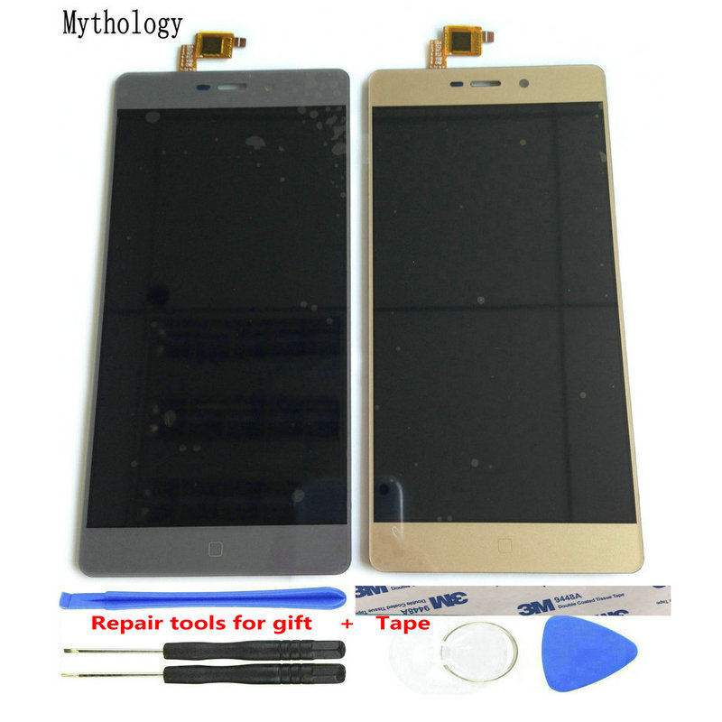 Mythologie Touch Screen LCD Display Digitizer Für Elefon M3 MTK6755 Octa Core 5,5 Zoll Touch Panel Handy