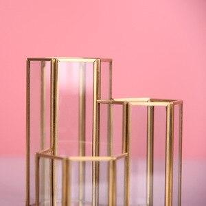Image 4 - イン北欧ガラスペンホルダー & 収納チューブ化粧ブラシカートリッジレトロパックボトルガラスボックスオフィスアクセサリー鉛筆ホルダー