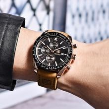 BENYAR 2019 ผู้ชายนาฬิกาแบรนด์หรูนาฬิกาควอตซ์ Casual นาฬิกาข้อมือชายกันน้ำ Relogio Masculino