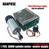 Free Shipping CNC Spindle 300W Air Cooled Spindle Kit 0 3KW Motor Spindle With Power Supply