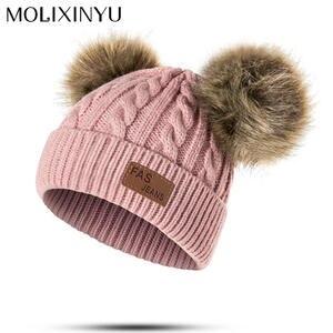 MOLIXINYU Baby Boys Girls Children Winter Hat For Girls Cap 569070ed42aa