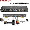 Todo a SDI Scaler compuesto conversor vga, dvi, HDMI señales de extremo a extremo de vídeo HD SDI formatos ( HD-SDI SMPTE 292 M / 3G-SDI 424 M / 425 M )