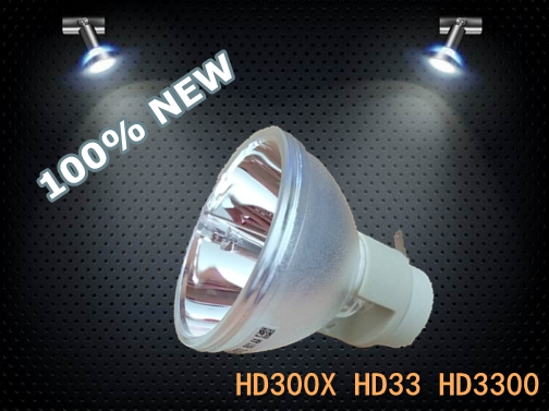 цена на 100% Original Bare Bulb BL-FP230I / SP.8KZ01GC01 Lamp for Projector HD300X HD33 HD3300