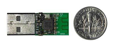 Free Shipping    Nordic-nRF24LU1P  UPR100-USB  Module