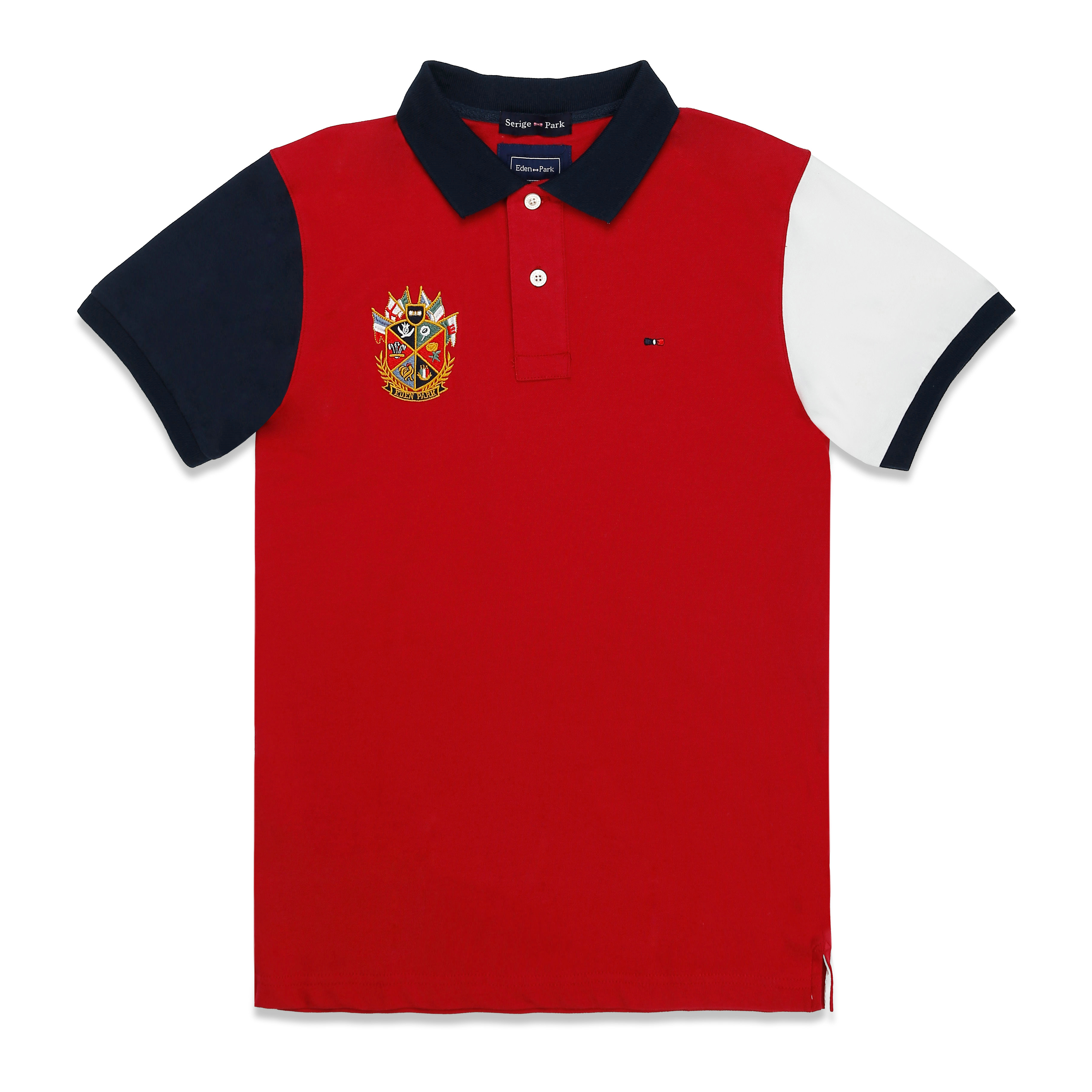 2019 NEW MEN   POLO   SHIRTSUMMER HIGH QUALITY BRAND SERIGE EDEN PARK FRANCE BRAND SUPERIOR COTTON MATERIAL AND EXCELLENT QUALITY