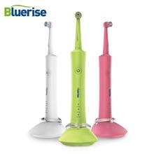 Электрическая зубная щетка перезаряжаемая 2 зубных щеток вращающийся нескользящий водостойкий держатель для взрослых детей гигиена полости рта уход за зубами