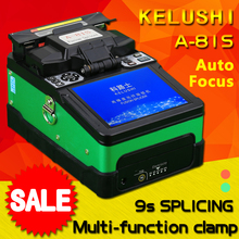 FTTH Automatic Optical Fiber Fusion Splicer Machine A-81S Optic Splicers Welding Splicing Green