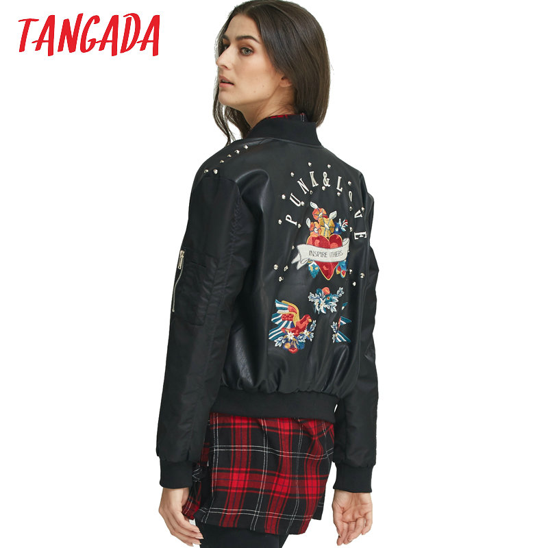 Online Get Cheap Faux Leather Bomber Jackets -Aliexpress.com ...