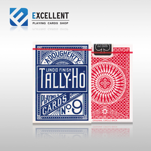 1Pcs Hot Sale High Quality Tally Ho Playing Cards Magic Poprs Magia deck Tricks