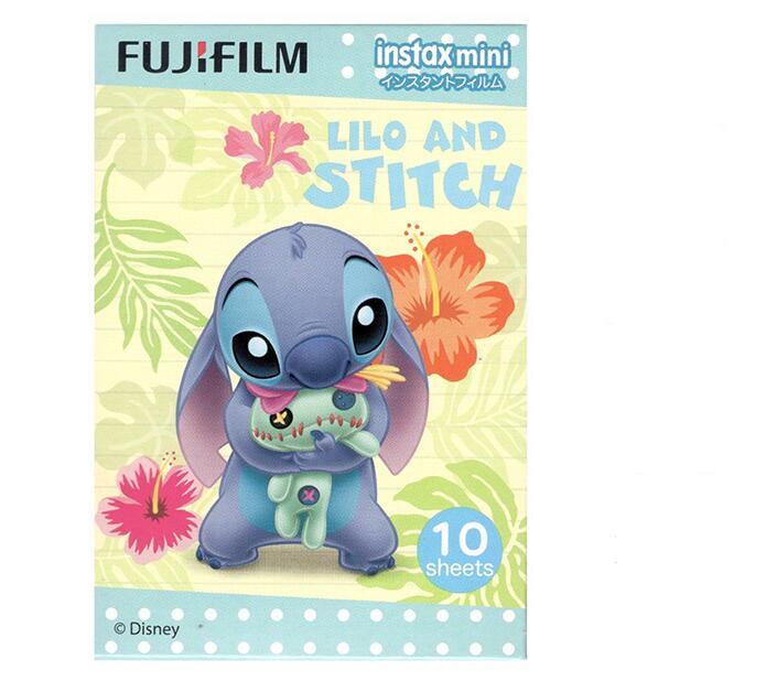 Original 2018-07 date Fujifilm Instax Mini 8 Fuji Photo Paper Stitch For Polaroid mini 8 50s 7s 90 25 Share SP-1 Instant instax