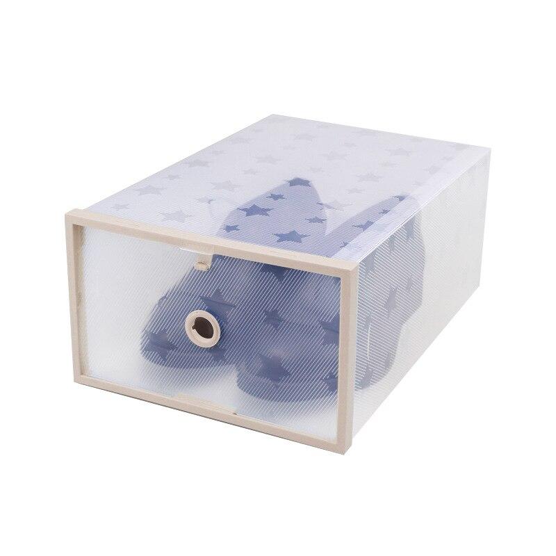 Коробка для хранения обуви ясно ящик прозрачный Главная организаторы стекируемые чехол