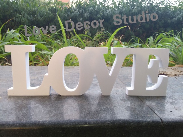 Love Wedding Signs For Sweetheart Table Letters Sign Wood Wooden