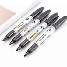 TUNACOCO  Marker Pen Black Markers Bullet Journal Marking Oil Art Supplies School Office