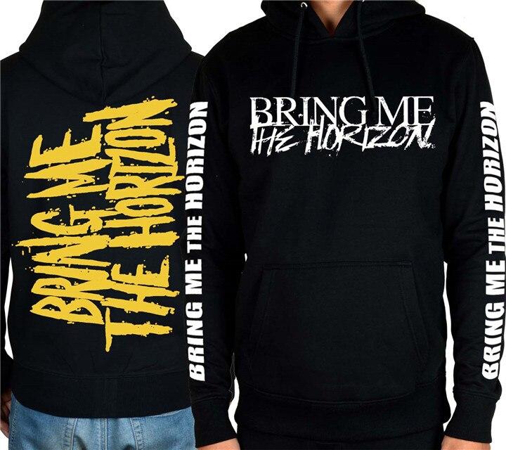 9 ontwerpen brengen mij de horizon rock heavy metal rits & pollover hoodies shell jas merk punk bmth sweatshirt sudadera-in Hoodies en sweaters van Mannenkleding op  Groep 3