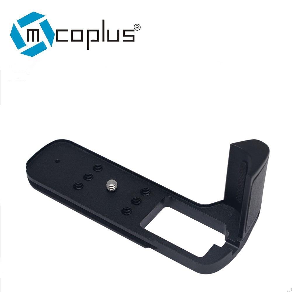 Mcoplus XT2 Aluminum Alloy Hand Grip Quick Release Plate L Bracket for Fuji Fujifilm X-T2 XT2 Camera цена