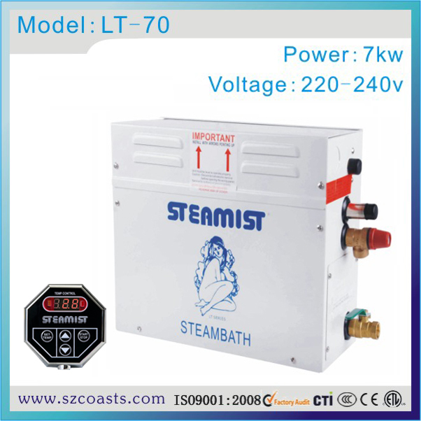 Steamist Manual Drain 7kw 220 240v 50hz Home Use Steam Generator With Tc135 Controller Steam Generator Steamist Steam Generatorgenerators Steam Aliexpress