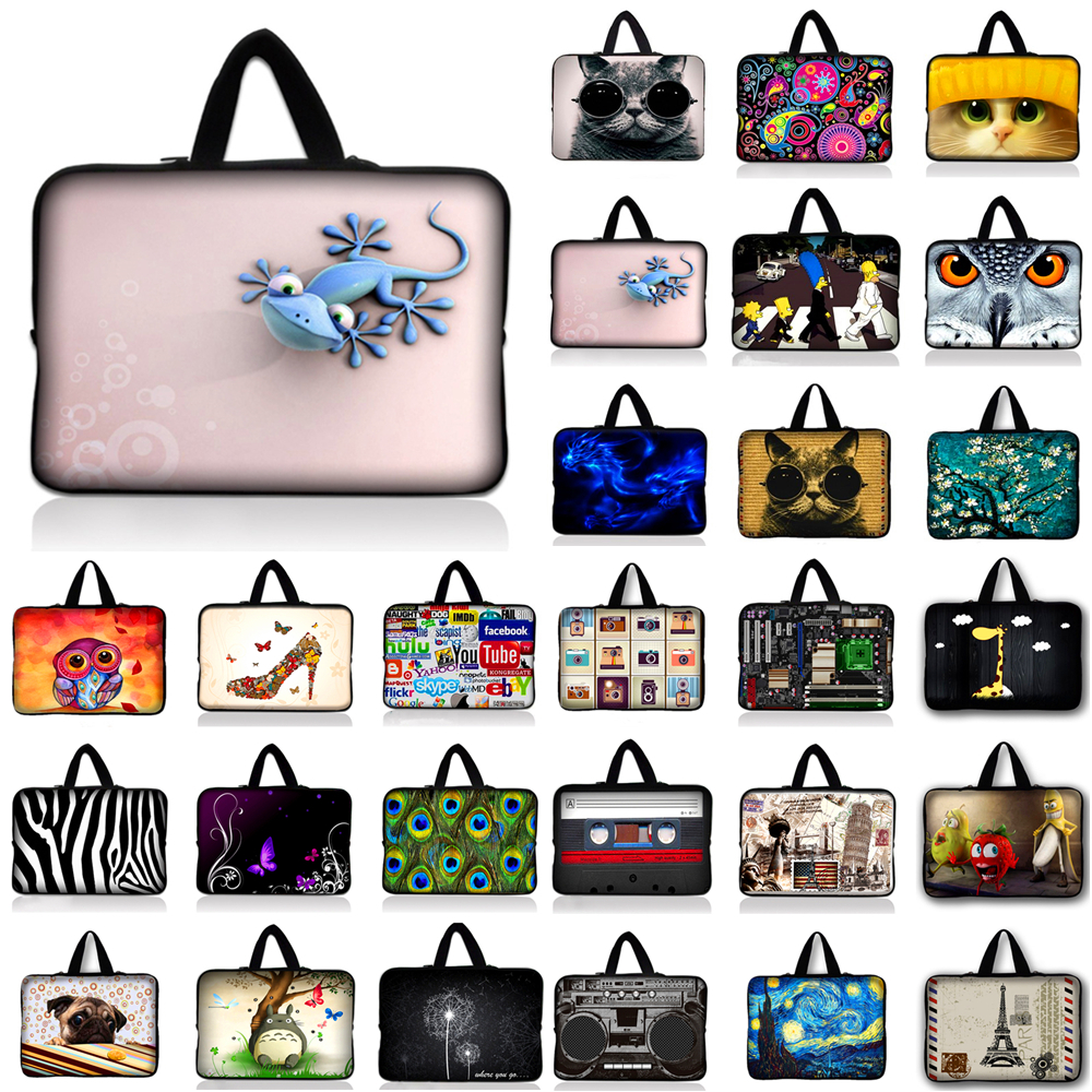 Fasion Computer Laptop Bag Notebook PC Smart Cover For ipad MacBook waterproof Sleeve Case 7 10 12 13 14 15 17 inch tablet Bags