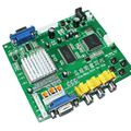NEW Arcade game RGB CGA EGA YUV to VGA HD video converter board HD9800 GBS8200/ Video Converter Board