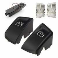 1 Pair Car Electric Window Control Power Switch Push Button Covers For Mercedes Sprinter Vito Viano Left+Right Window Lever & Window Winding Handles     -