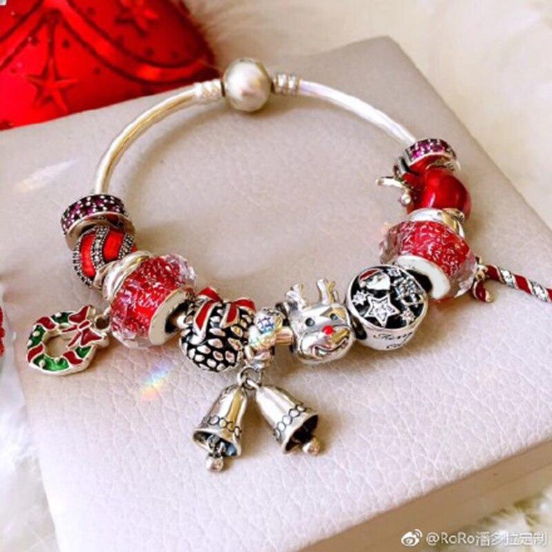 Bracelet de charme en argent pour femme