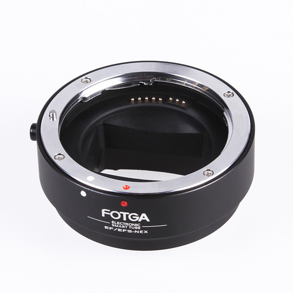 FOTGA Electronic AF Auto Focus Lens Adapter for Canon EF EF-S to Sony E NEX A7 A7R Full Frame camera auto focus lens adapter ii for canon eos ef ef s to sony full frame nex a7 a7r