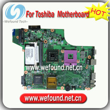 100% Working Laptop Motherboard for toshiba V000175080 L510 L515 L52 L535 Series Mainboard,System Board