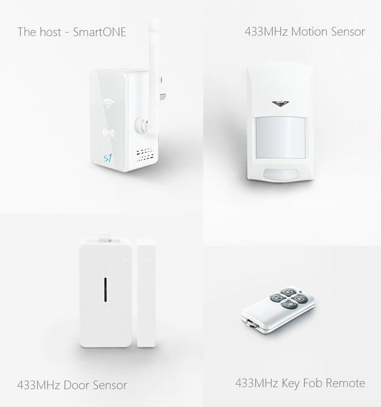 Broadlink S1C smartone Kit,home Automation system Security Alarm System-4
