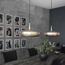 Modern Pendant Ceiling Lamps Aluminum Pendant Lights Home Decor Pending Lighting Dining Living Room Bedroom Loft Hanging Light цены
