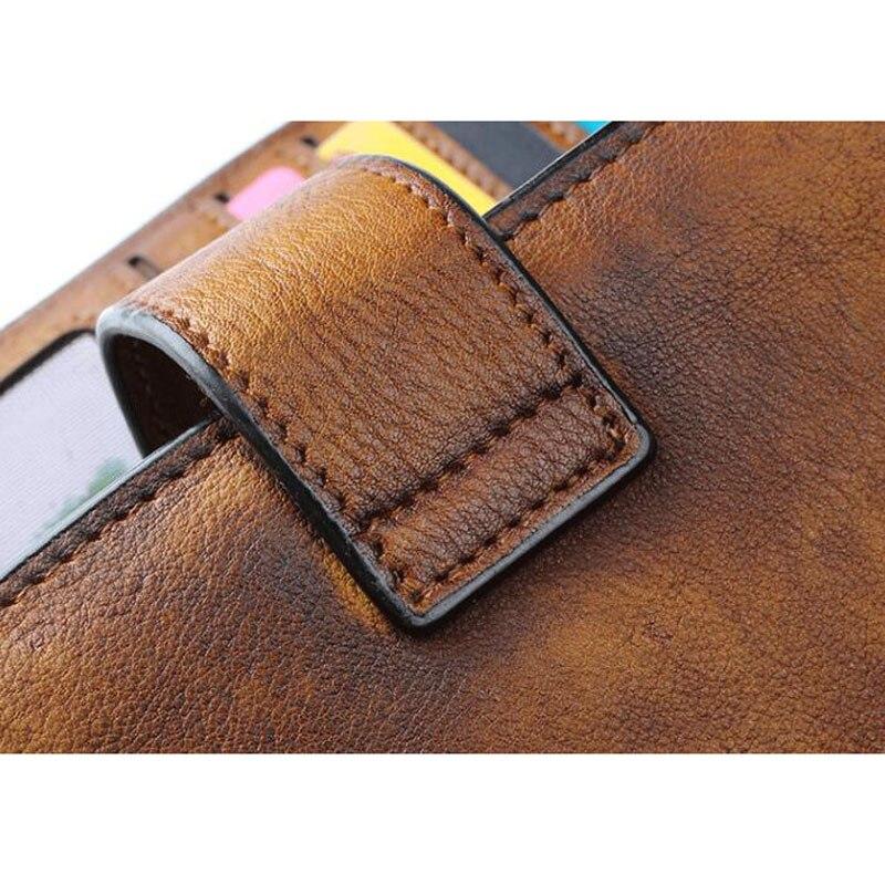 Schnalle Männer Handgemachte Brieftasche 3 Damen Vintage Leder Handtasche 1 Handy funktionale Bjyl 2 Multi Lange Alten Große 1FqAxF4P