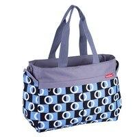 Insular de Moda de Gran capacidad Bolsas de Bebé bolsas de pañales nappy bolso de las mujeres ocasionales Bolsa de La Madre Maternidad bebé botella juguete bolso de La Momia