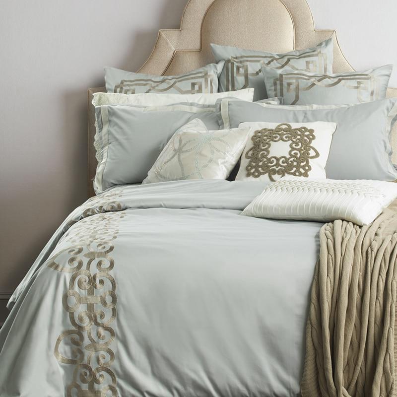 Adream Lluxury Brand100 Sateen Cotton Bedding Set Euro