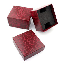 bowaiwen #0062 Durable Present Gift Box Case For Bracelet Bangle Jewelry Watch Box wholesale