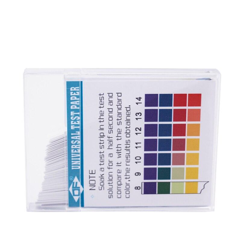 Полный спектр Щелочная кислота 1-14 Тесты Бумага Лакмус ph Тесты полосы Аквариум воды почвы Тесты ing PH Лакмус бумага скидка 15%