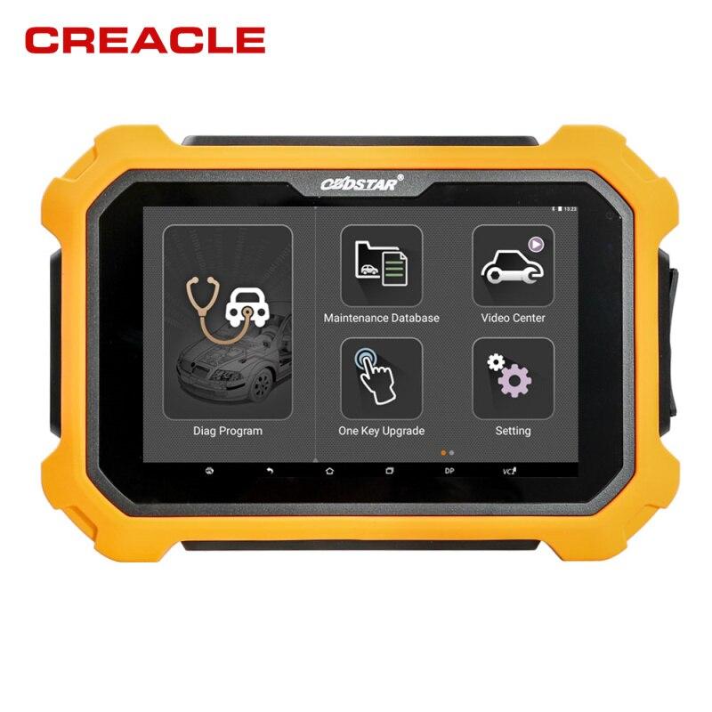 BESTE OBDSTAR X300 PAD2 X300 DP Plus 8 zoll Tablet Unterstützung ECU Programmierung Smart Schlüssel entfernungsmesser-korrektur mit P001 adapter
