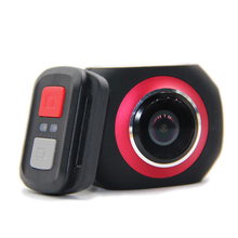 Wifi 360 Degree Panorama VR 360 Camera 1080P 30pfs Full HD OLED Screen Mini Sport Action Camera+Remote Controller