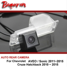 For Chevrolet AVEO Sonic Cruze Hatchback 2010-2015 HD CCD Car Rearview Parking Reverse Backup Rear View Camera Night Vision