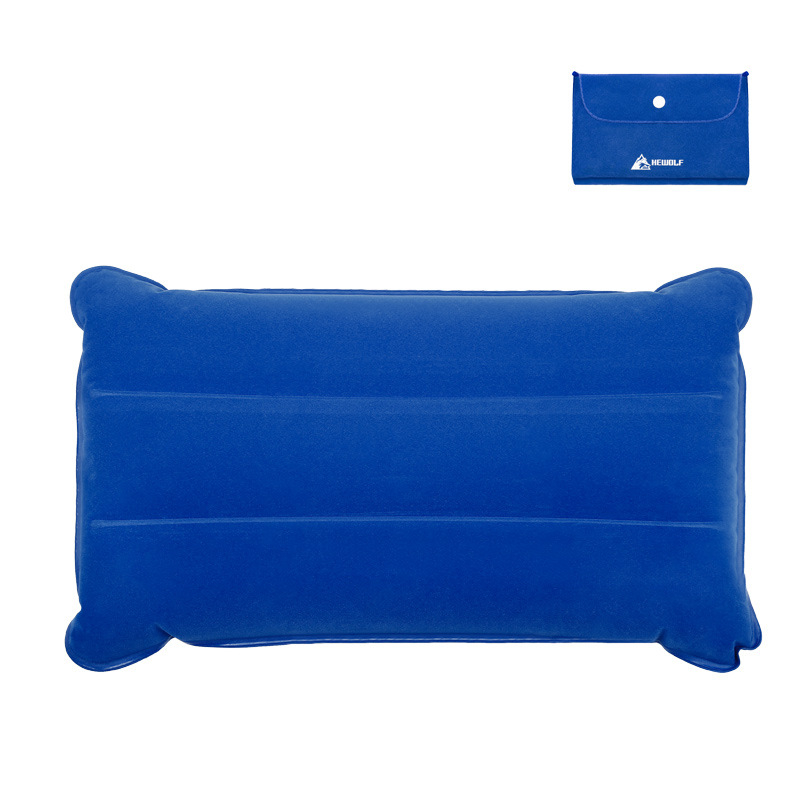 Image 3 - VILEAD Portable Camping Pillow 46*25 cm Outdoor Hiking Travel Inflatable Cushion Plane Beach Sleep Ultralight Soft Camping Mat-in Camping Pillows from Sports & Entertainment