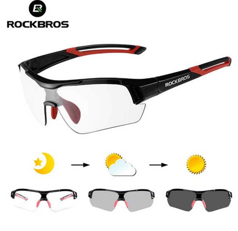 ROCKBROS Photochromic Cycling Sunglasses Eyewear UV400 Polarized MTB Bicycle Goggles Women Men Outdoor Sports Bike Glasses 7 9 inch universal detachable wireless bluetooth magnetic keyboard with pu leather cover case for apple ipad mini 2 3 4